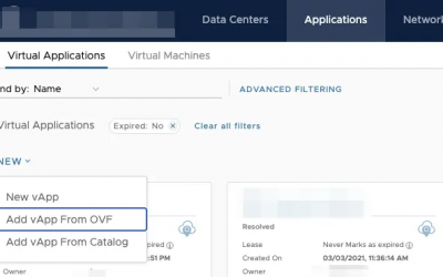 How to deploy an OVA in Cloud Director